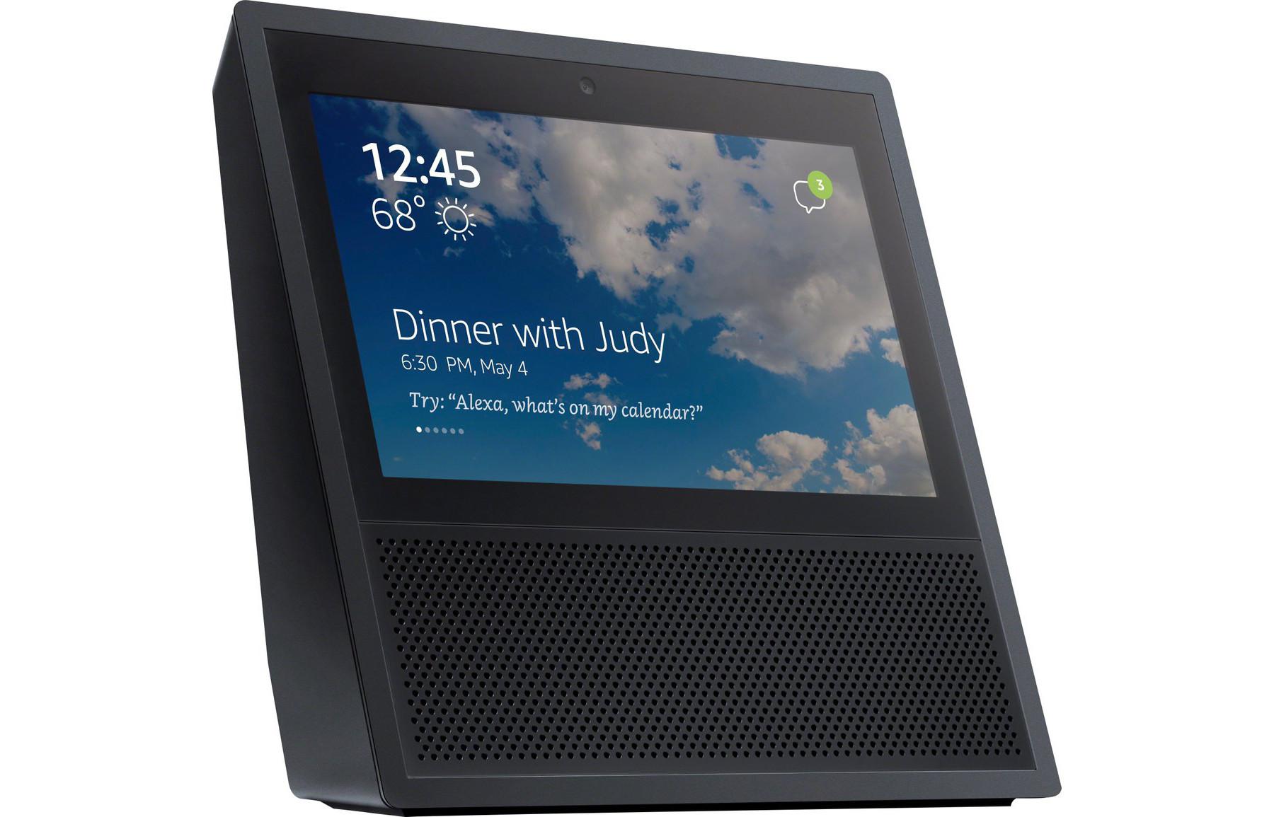 Amazon Echo Snow