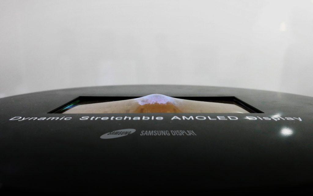 Samsung rekbaar OLED-scherm