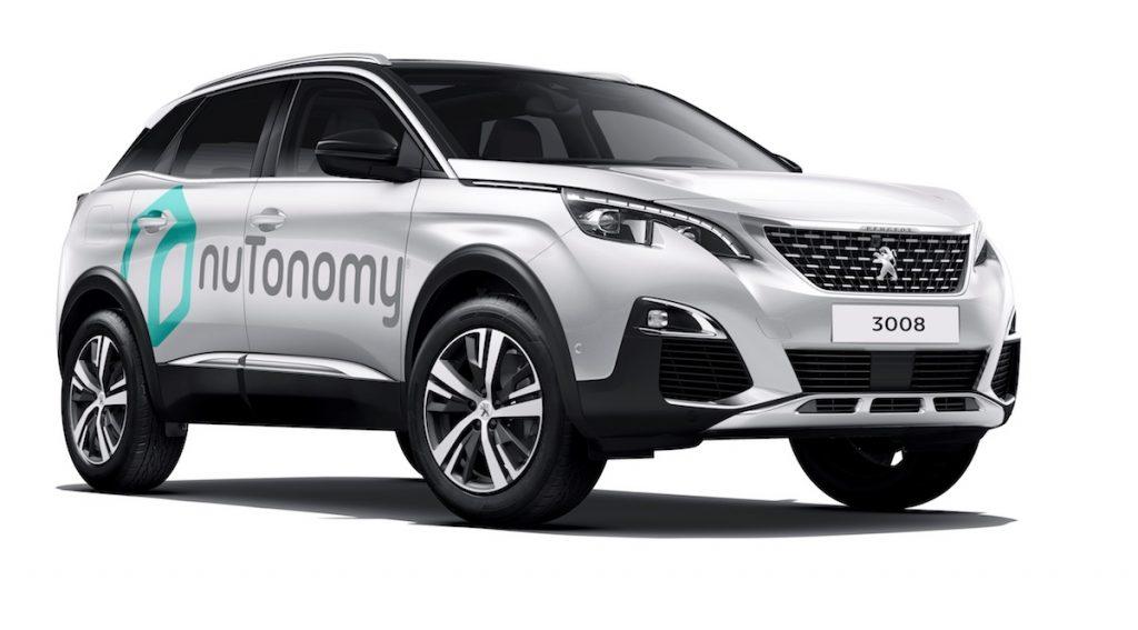 Peugeot nuTonomy