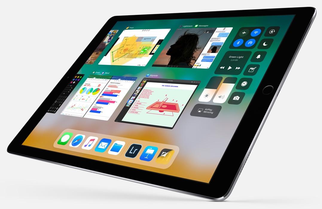 iOS 11 multitasking iPad