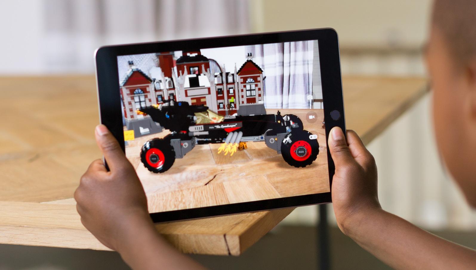 iPad augmented reality