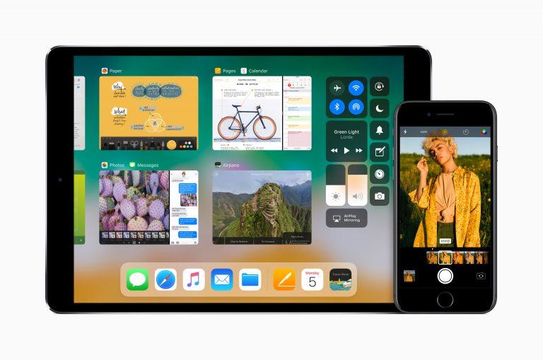 iOS 11 iPad multitasking