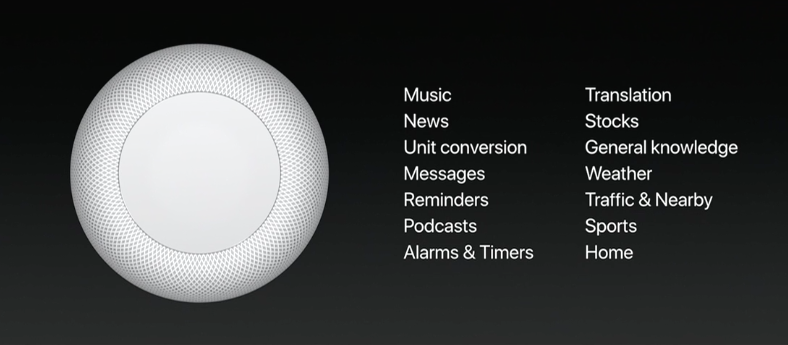 Siri in HomePod