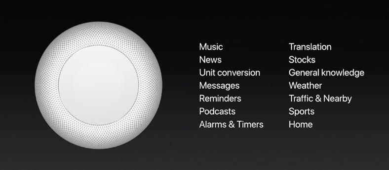 Siri in HomePod
