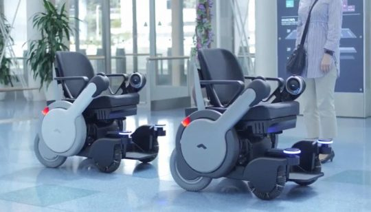Autonome-rolstoel-Panasonic