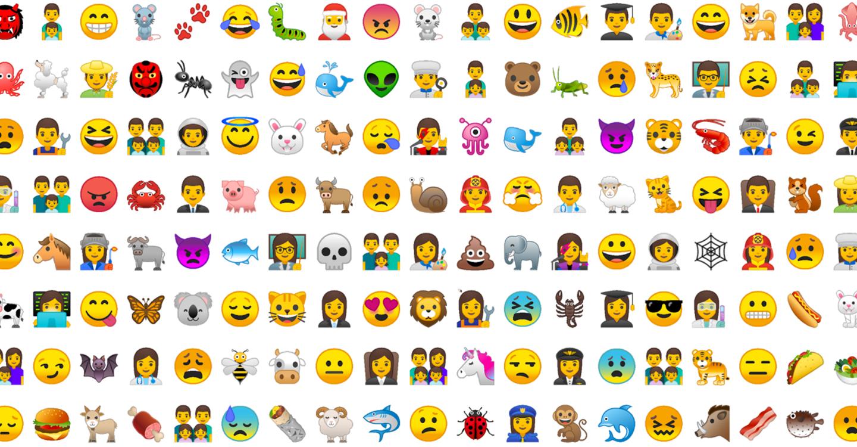 Android Oreo - Emoji