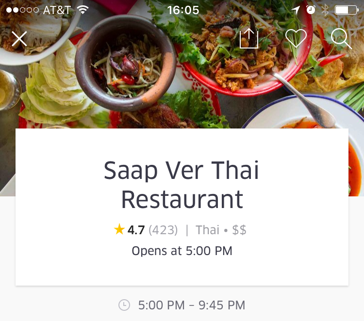 UberEATS Restaurant Ratings