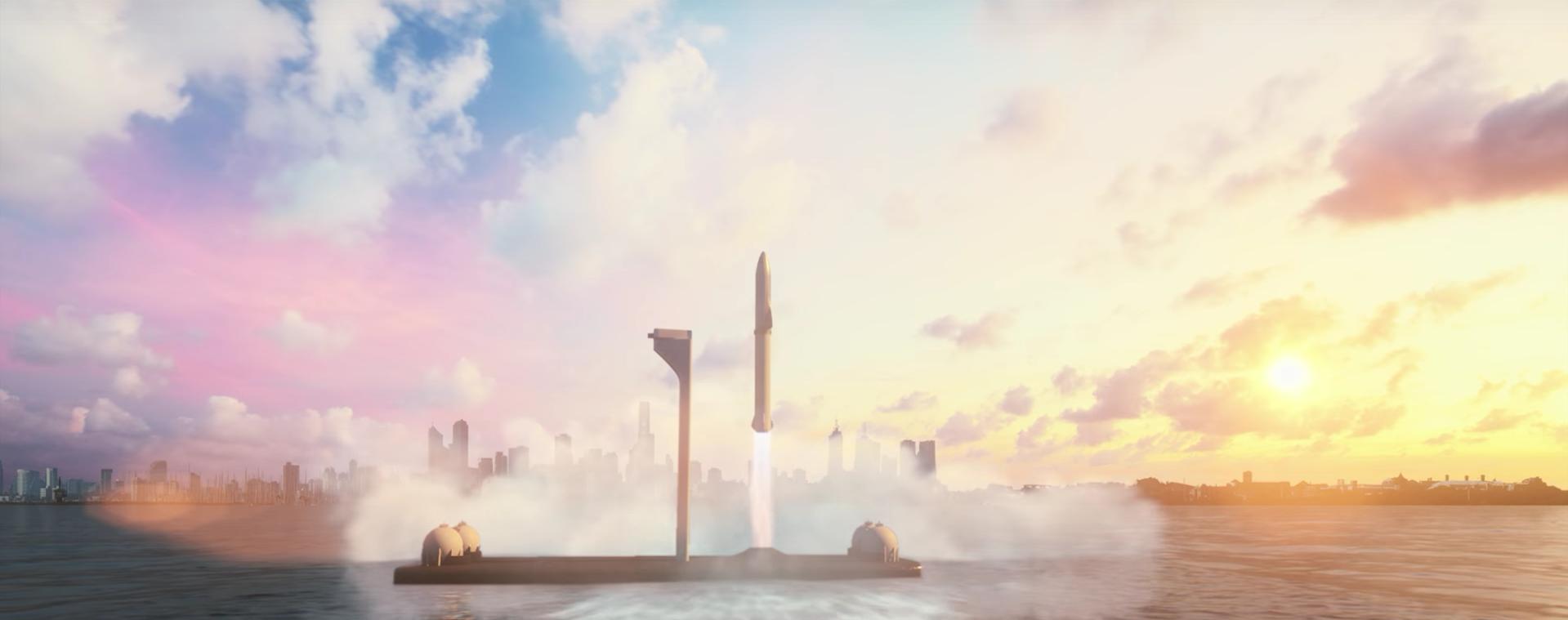 BFR, Starship, SpaceX