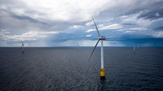 Drijvend-windmolenpark