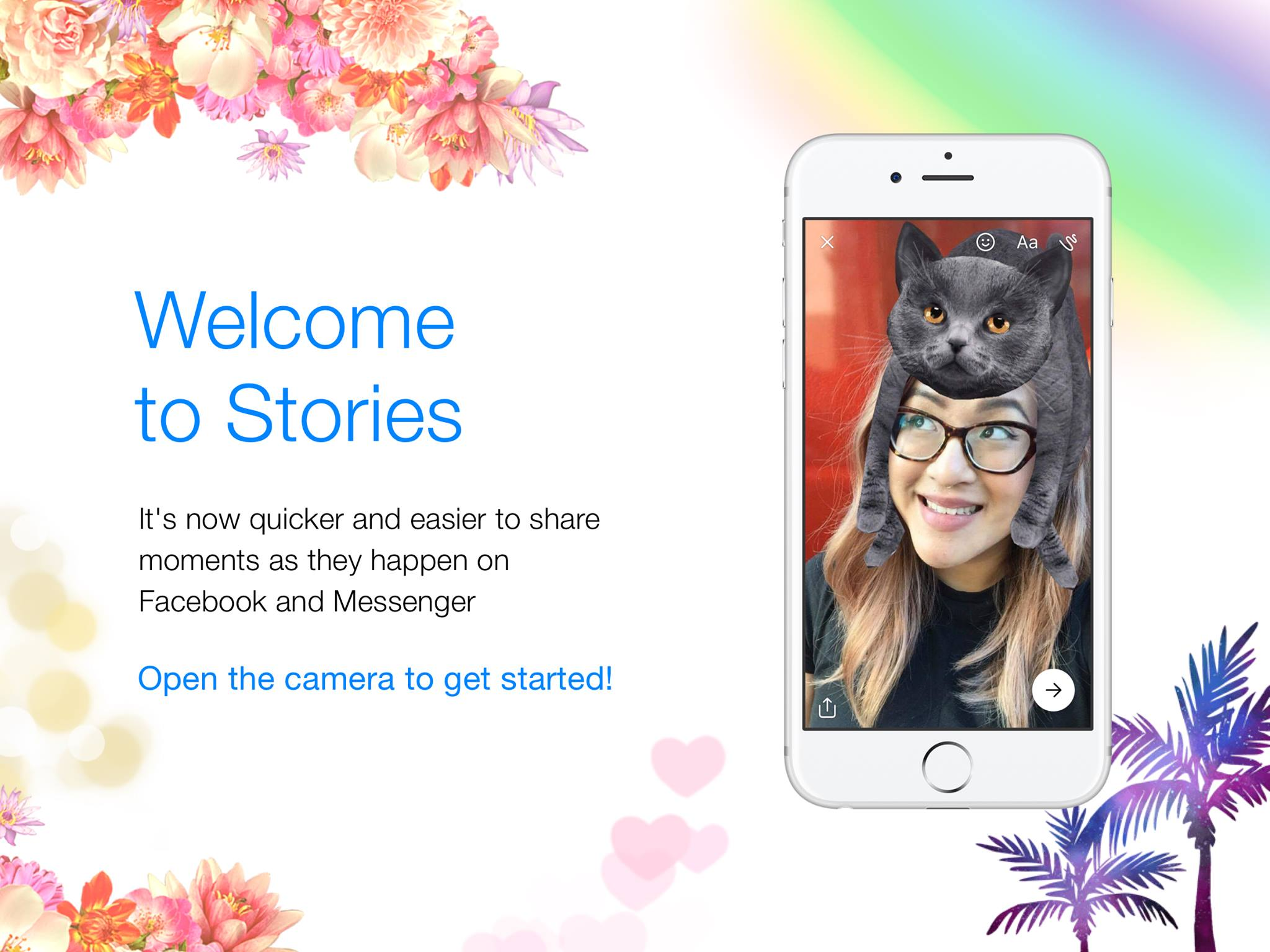Stories Facebook Messenger