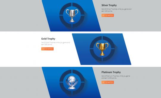 Trofee-Playstation