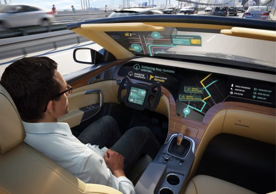 LG en Here autonoom rijden