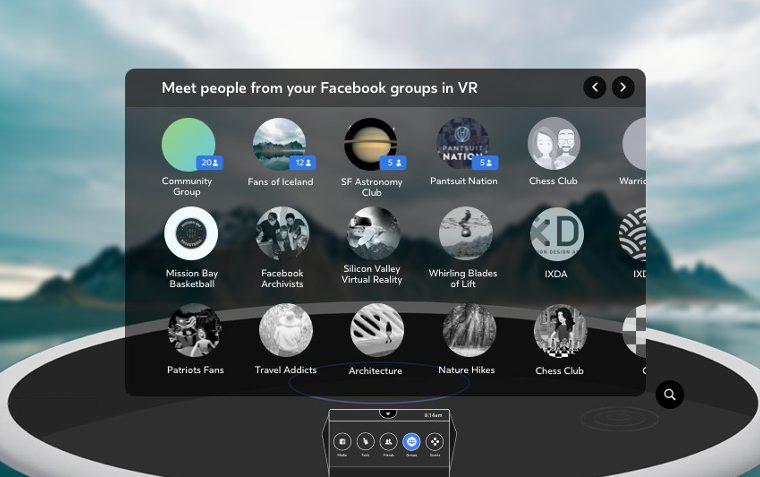 Facebook-Spaces-Groepen