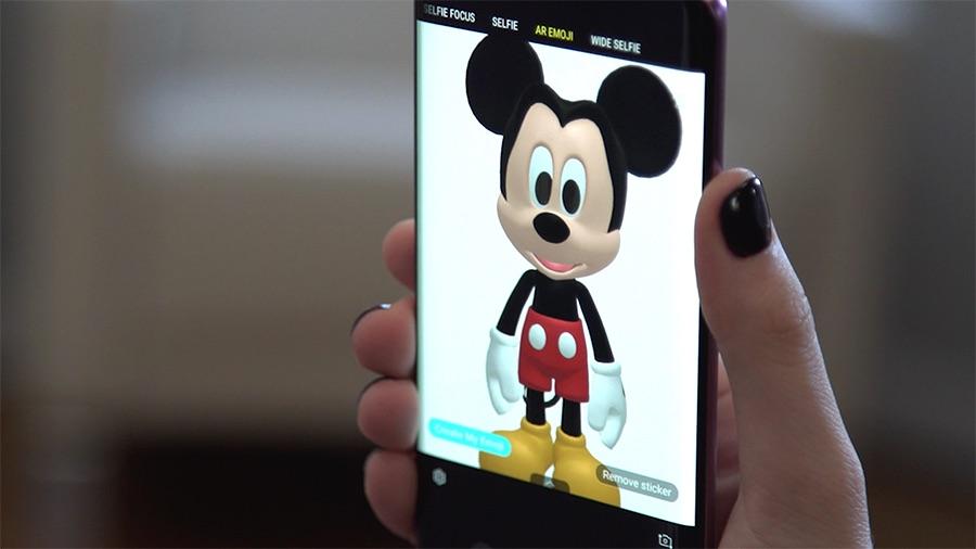 Samsung AR Emoji Disney
