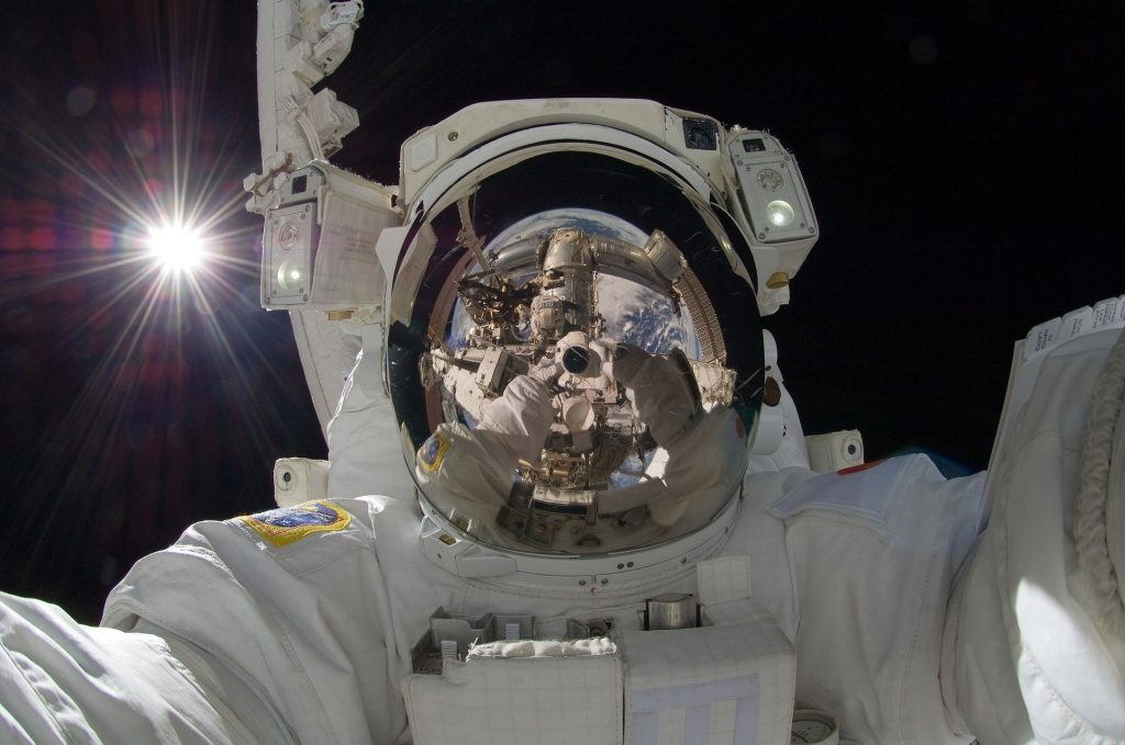 ISS, astronaut