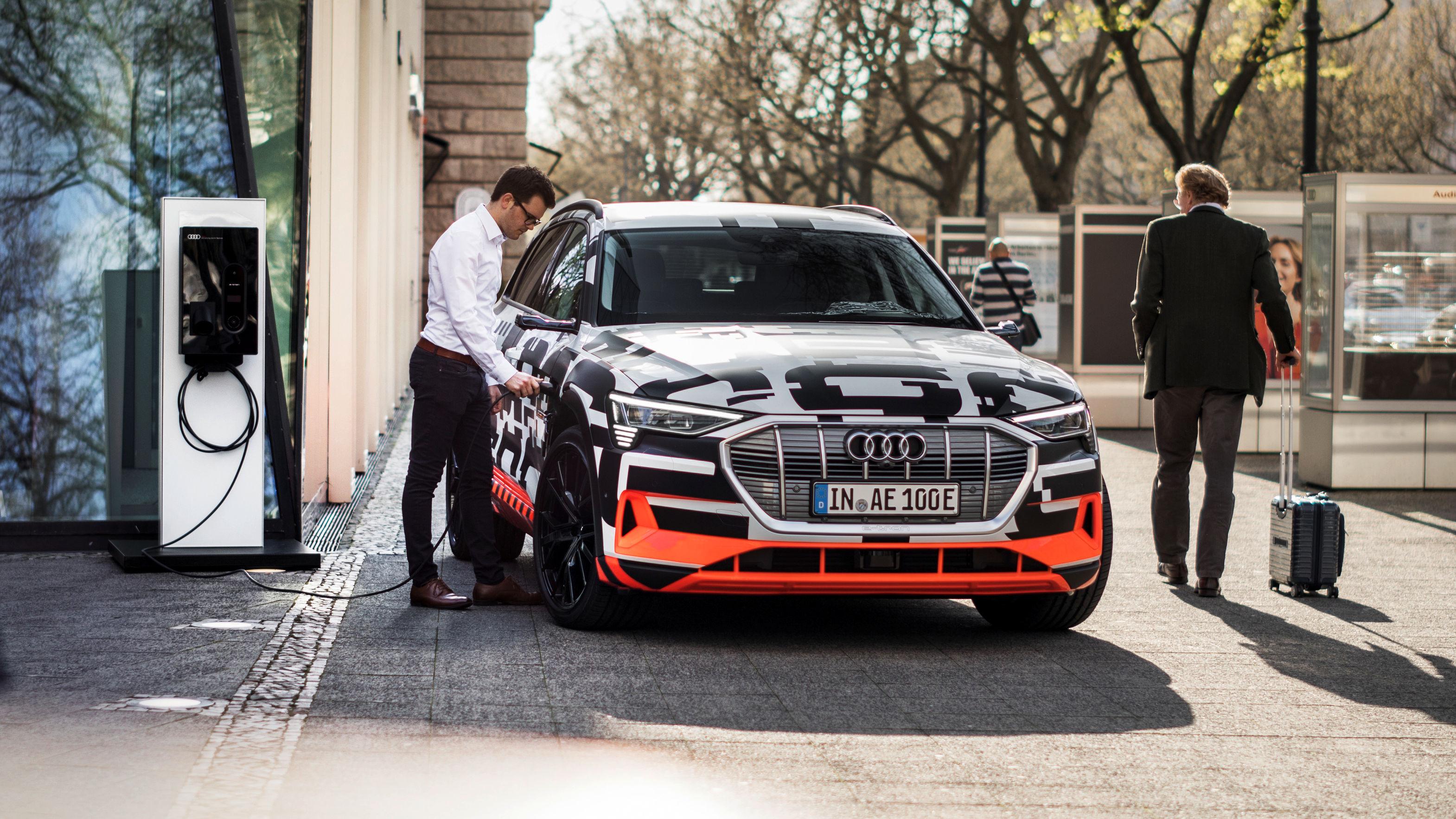Audi laadsysteem