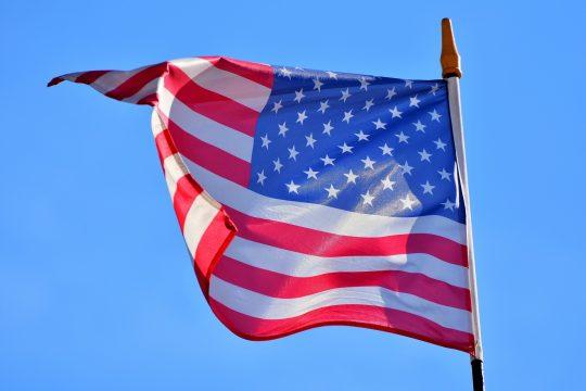Amerikaanse vlag, VS,