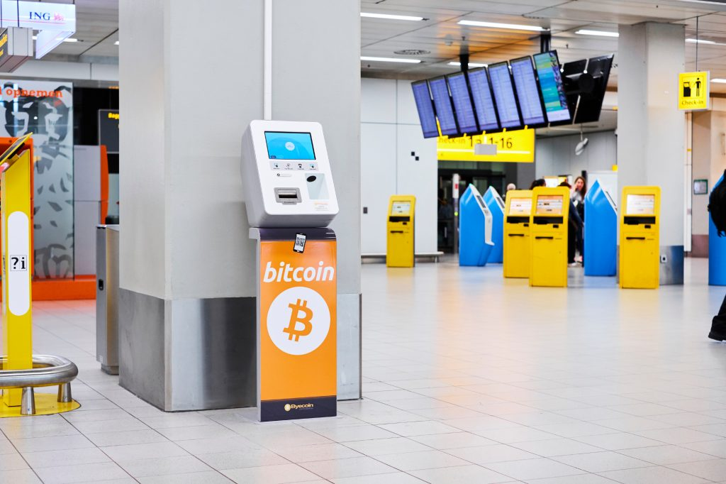 Schiphol cryptovaluta
