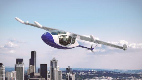 Rolls-Roys vliegende taxi