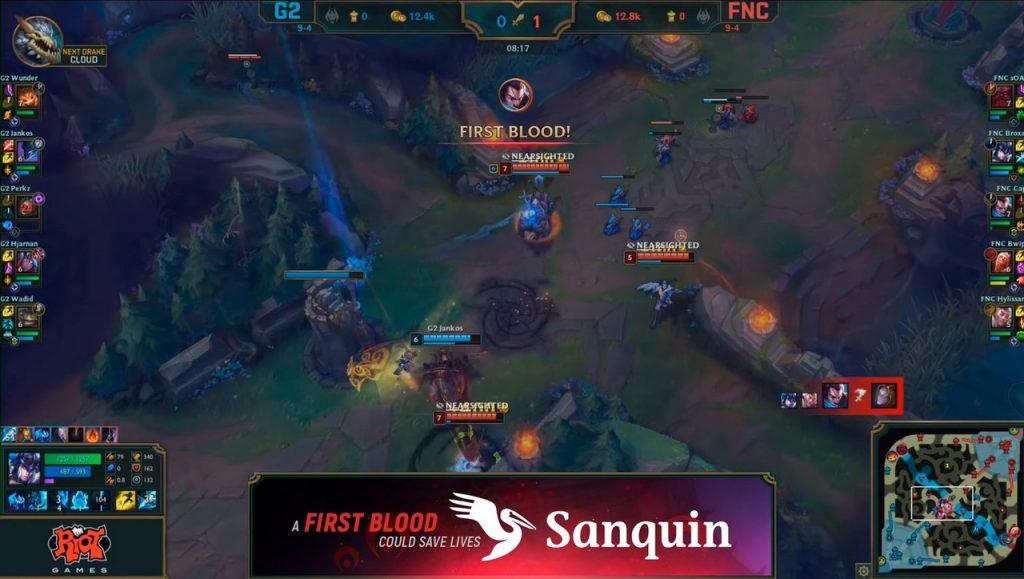 Sanqin, Riot Games, League of Legends