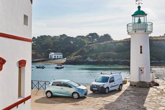 Renault slim eiland