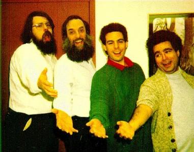 Barbershop-Quartet Nathaniel Borenstein