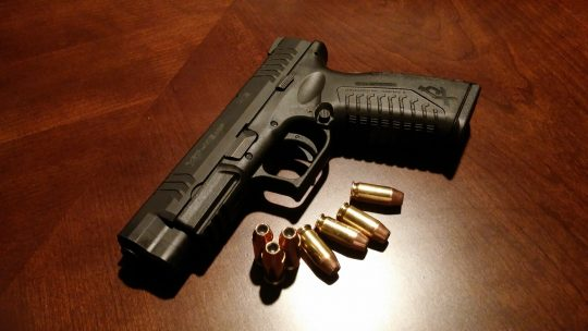 pistool, wapen, Athena Security