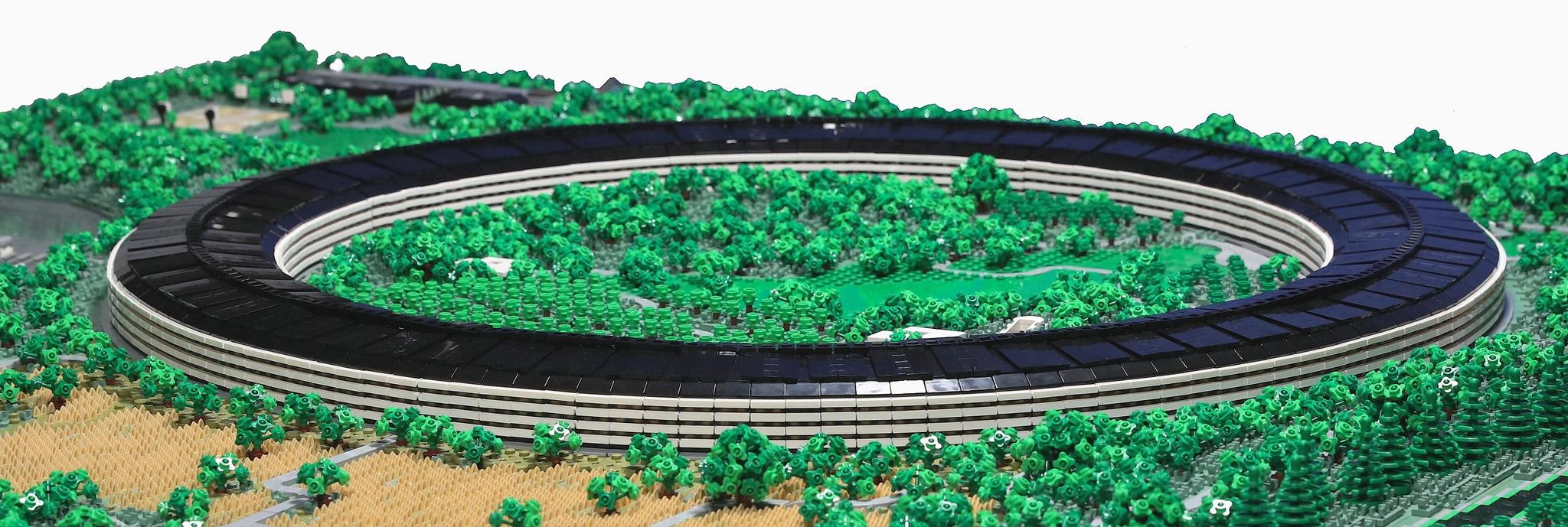 Apple Park LEGO