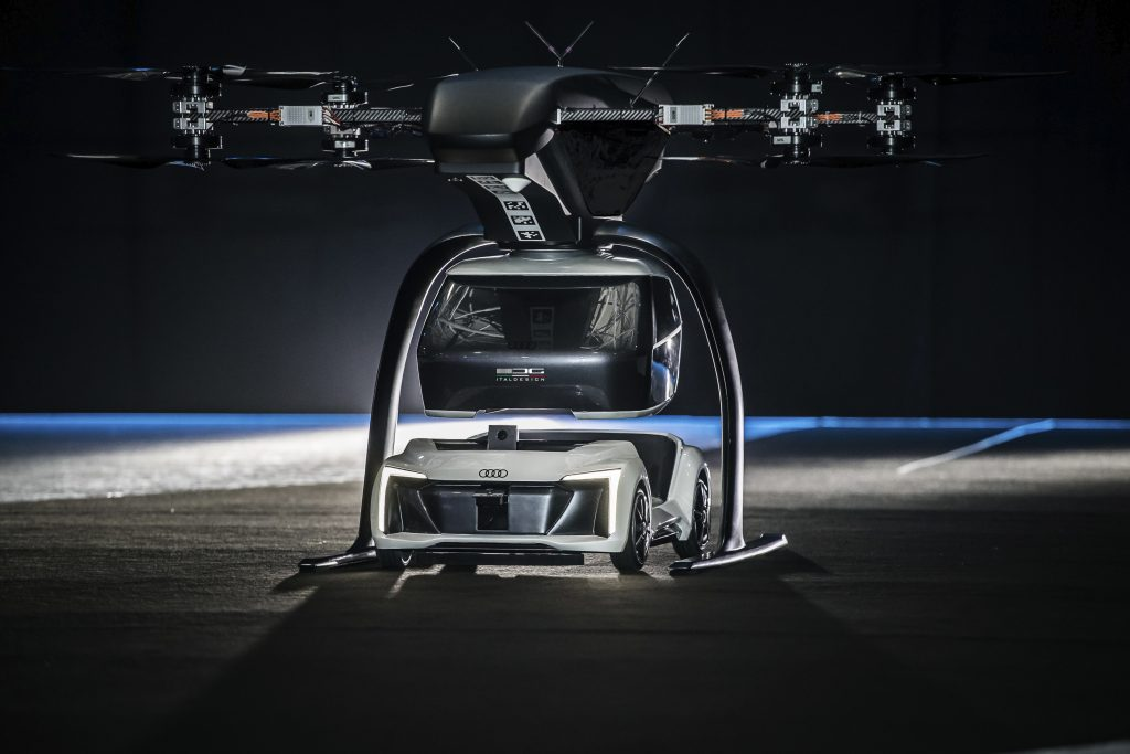 Audi, Airbus and Italdesign autonome vliegende taxi