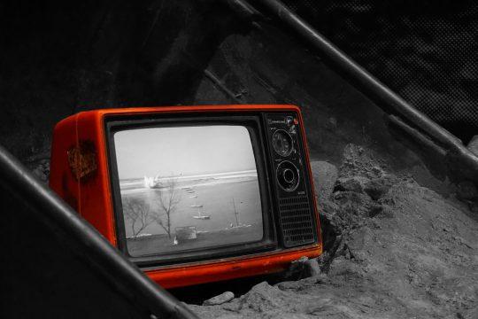 zwart-wit-televisie