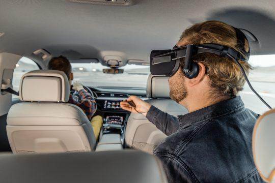 Audi e-tron virtual reality