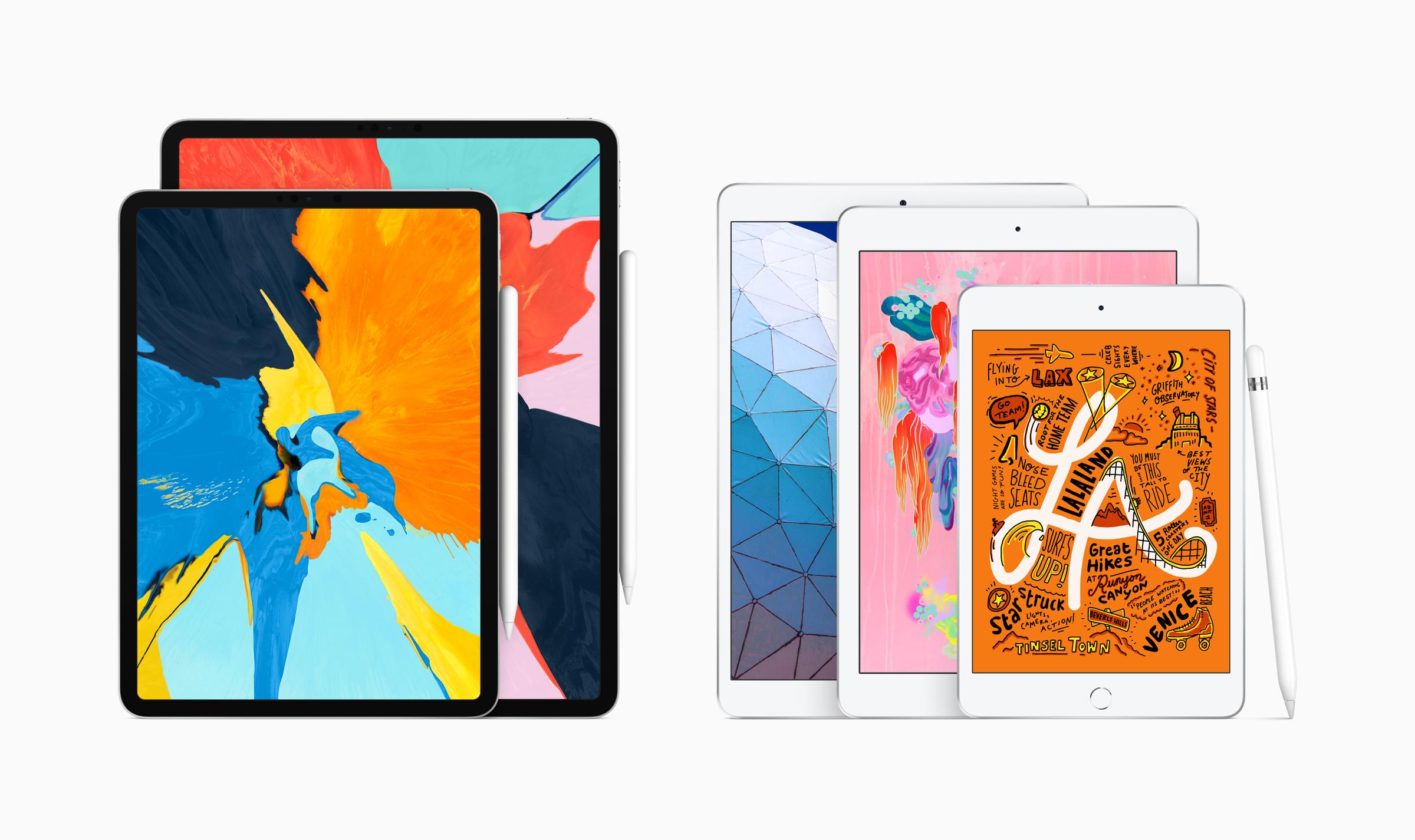 iPad Air en iPad Mini