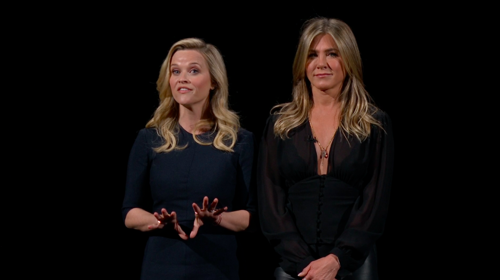 Apple TV+ Jennifer Anniston en Reese Witherspoon