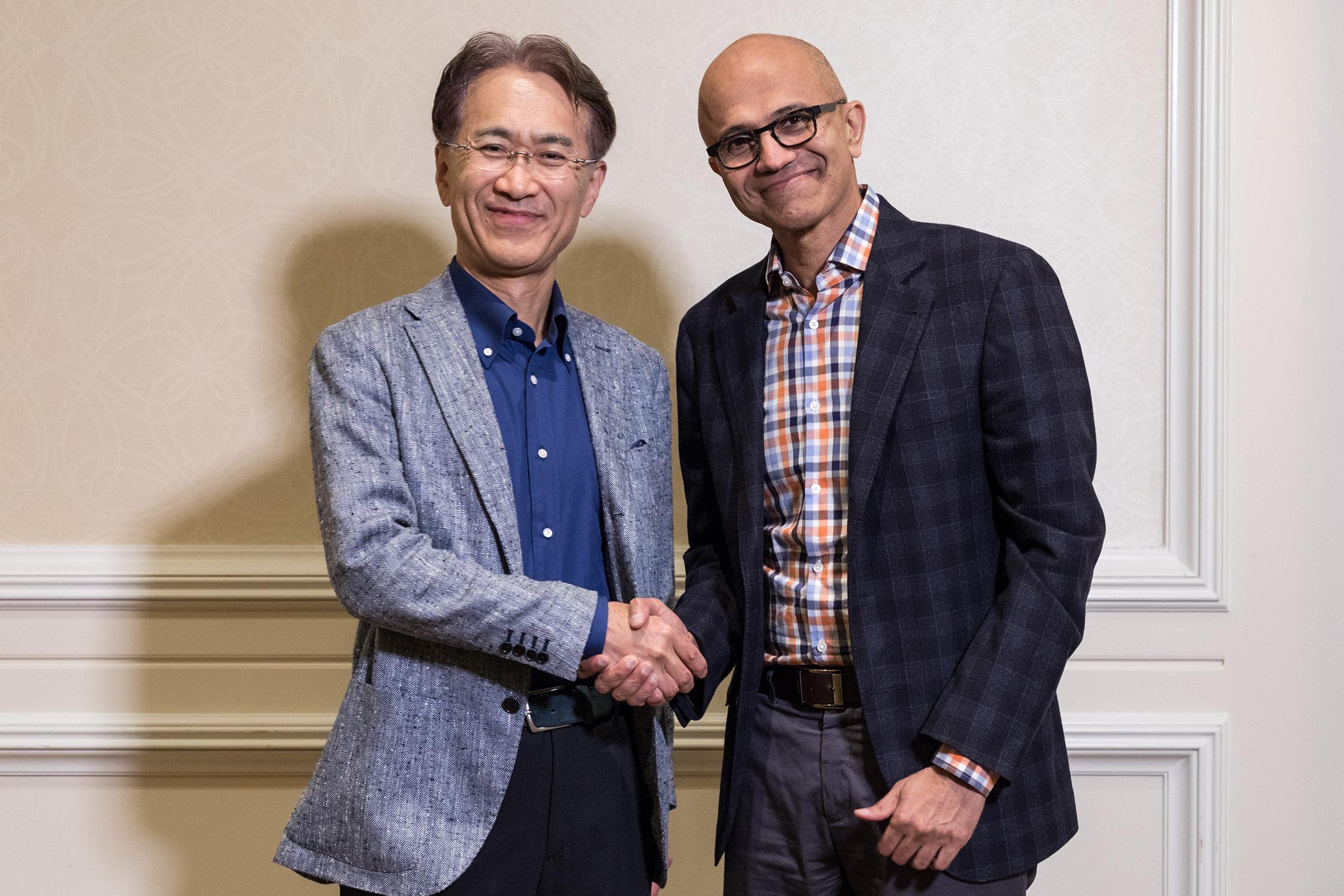 Microsoft-Sony-samenwerking