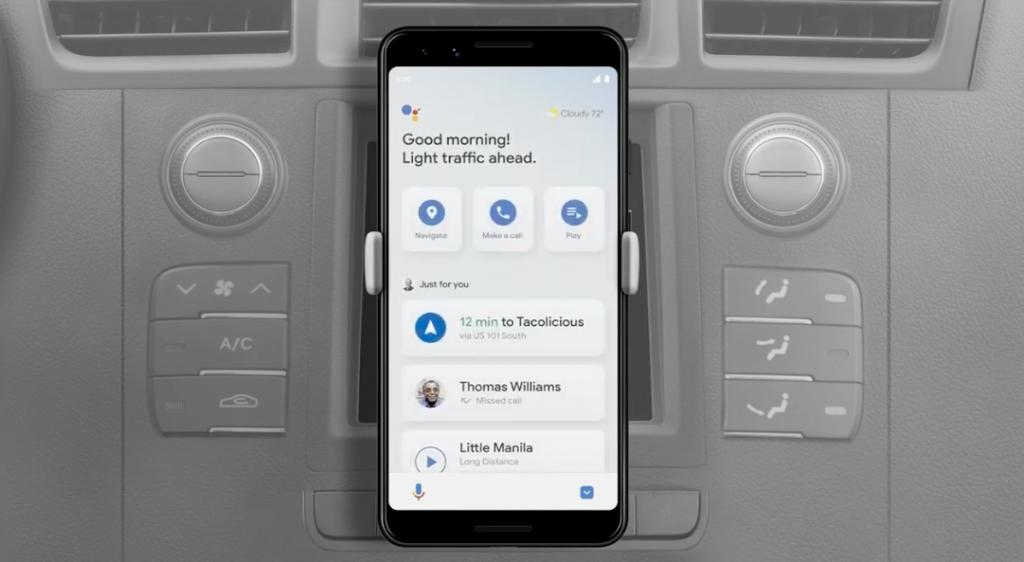 Google Assistant drive