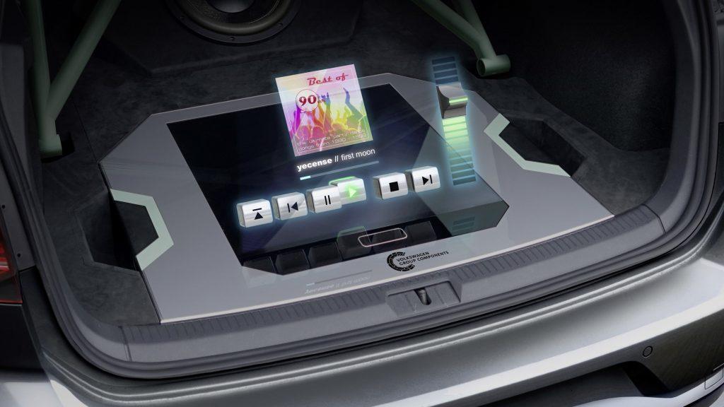 Volkswagen holografische bediening