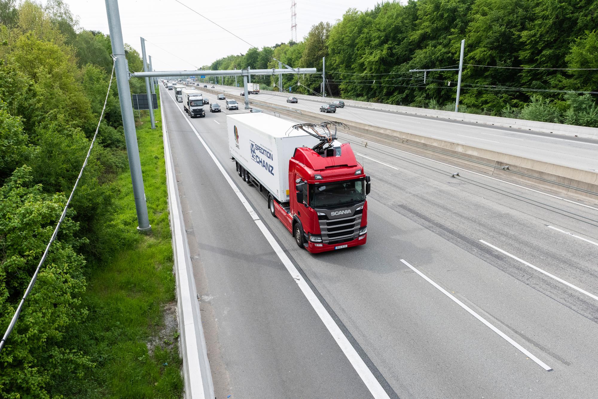 eHighway, elektrische snelweg, Siemens