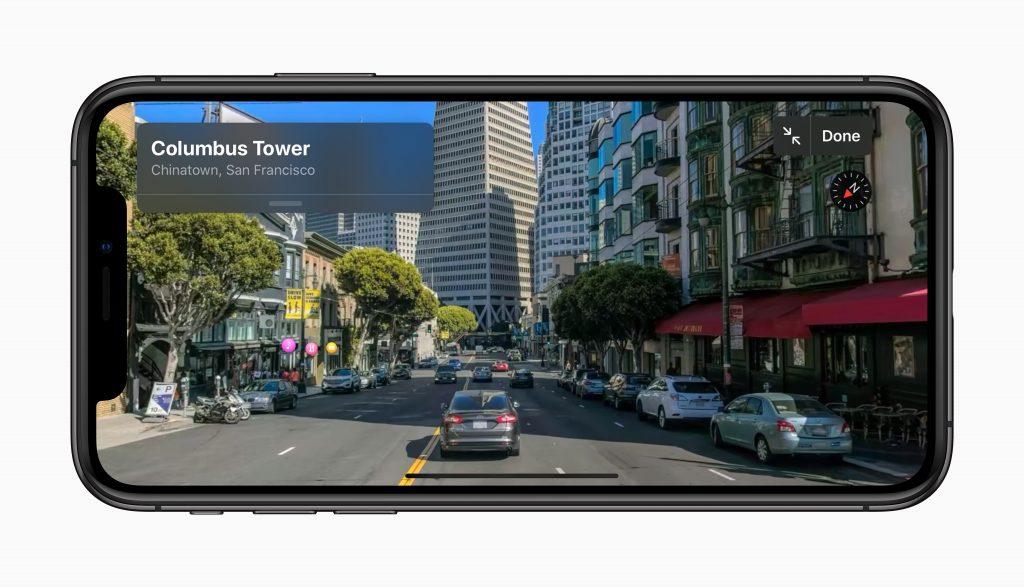 Apple iOS 13 Maps