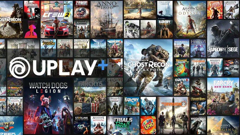 UPlay+ Ubisoft
