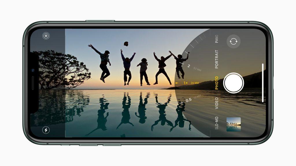 iPhone 11 Pro ultra-groothoeklens