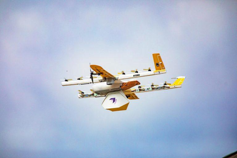 Alphabet-Wing-drone