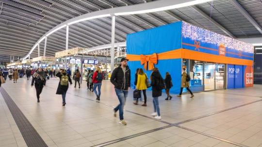 Coolblue, popupwinkel Utrecht CS
