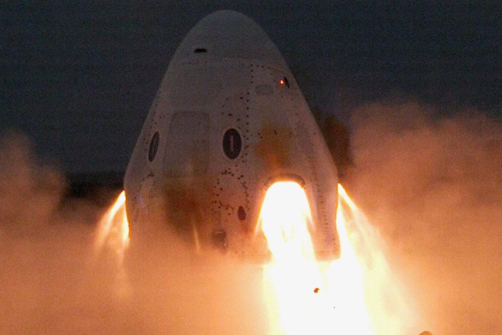 SpaceX Crew Dragon test