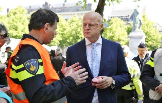 Minister Ferd Grapperhaus van Justitie