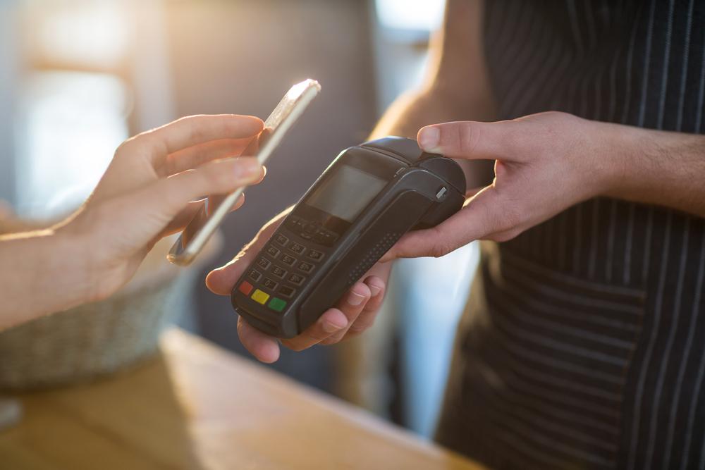 pinbetalingen smartphone, pinnen