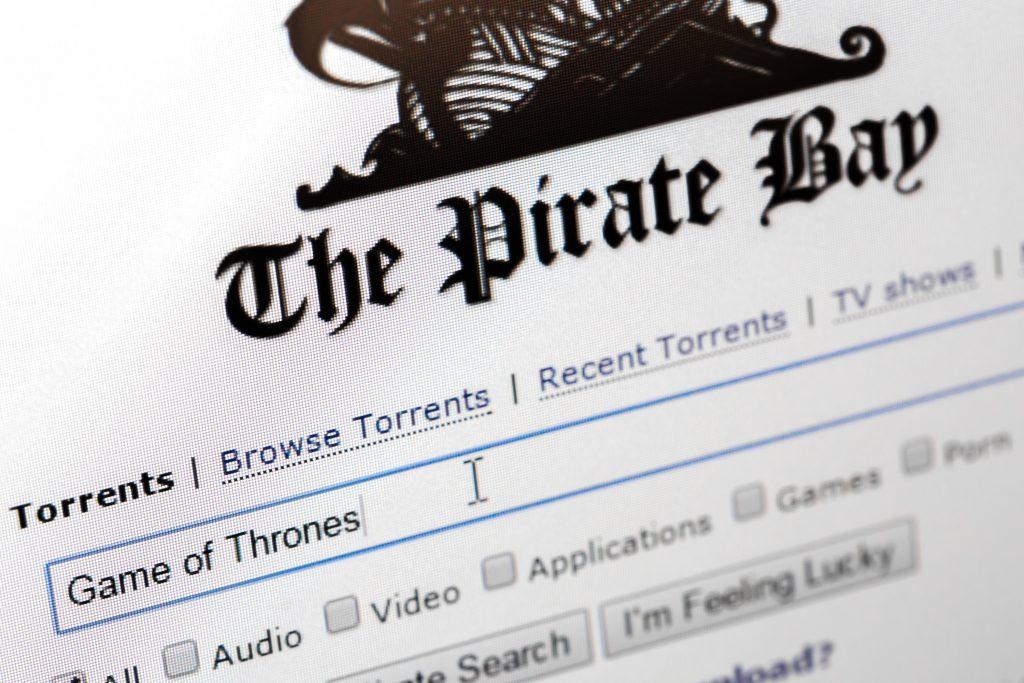 Piraterij, illegaal downloaden, Game of Thrones, The Pirate Bay