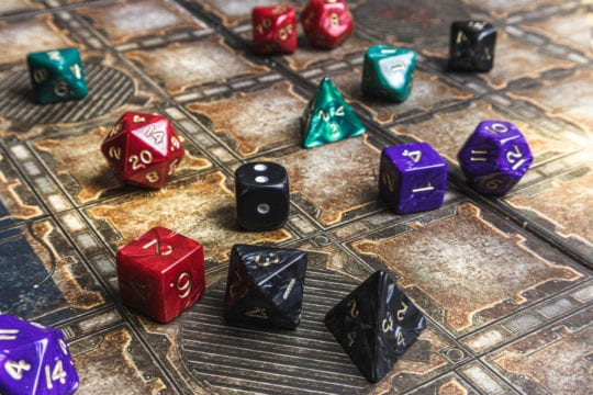 beginnen met Dungeons and Dragons