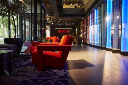 Netflix kantoor