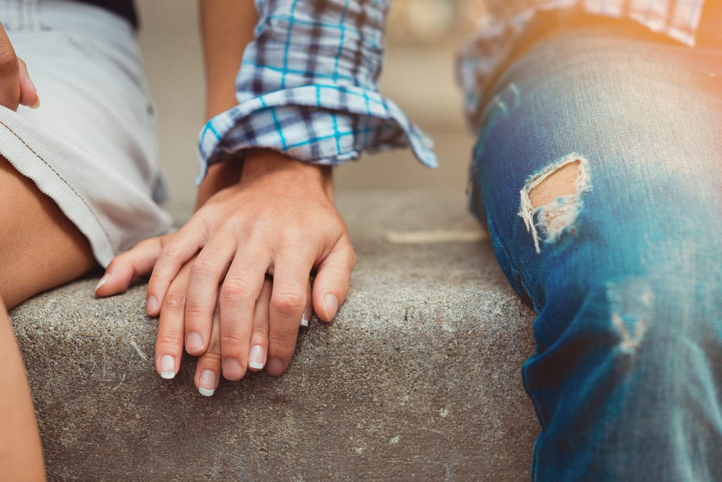 Daten, eerste date, romantiek