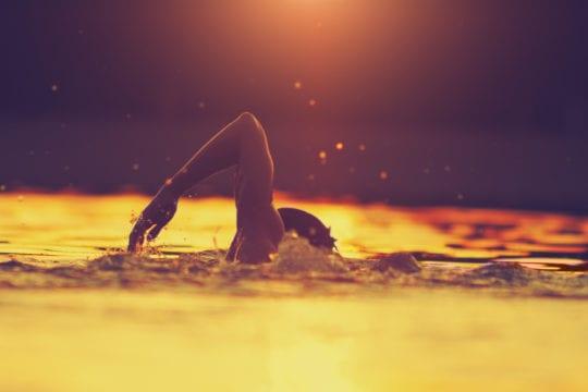 Beginnen met zwemmen